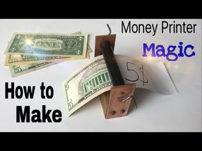 Wie man ein Geld Drucker Maschine - Easy Way - Zaubertrick - Tutorial - YouTub ...