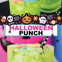 Halloween Punch für Kinder