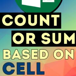 Count or Sum Based on #Excel Cell Color