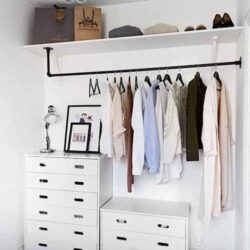 The DIY Closet Organization Ideas On A Budget That Every Uni Student Needs - Society19 UK