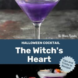 The Witch's Heart - Halloween Party Cocktail Drink Recipe